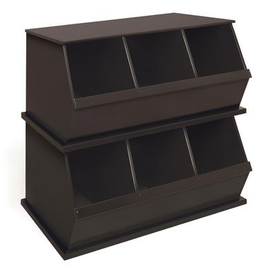 Great for shoes, books, toys, movies and more! Love organizing!