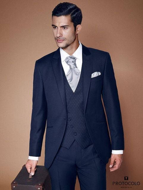 5-piece-Slim-Fit-Royal-Blue-Mens-Suit-New-Trend-for-Groom-Wedding ...
