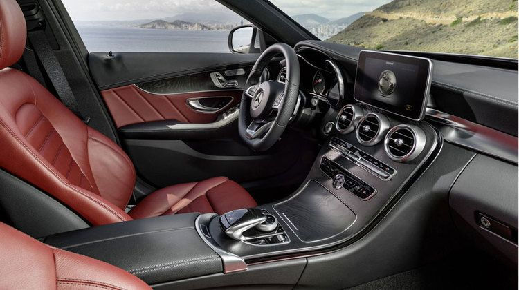 In The Drivers Seat Interior Innovations Mercedes C300 Benz C
