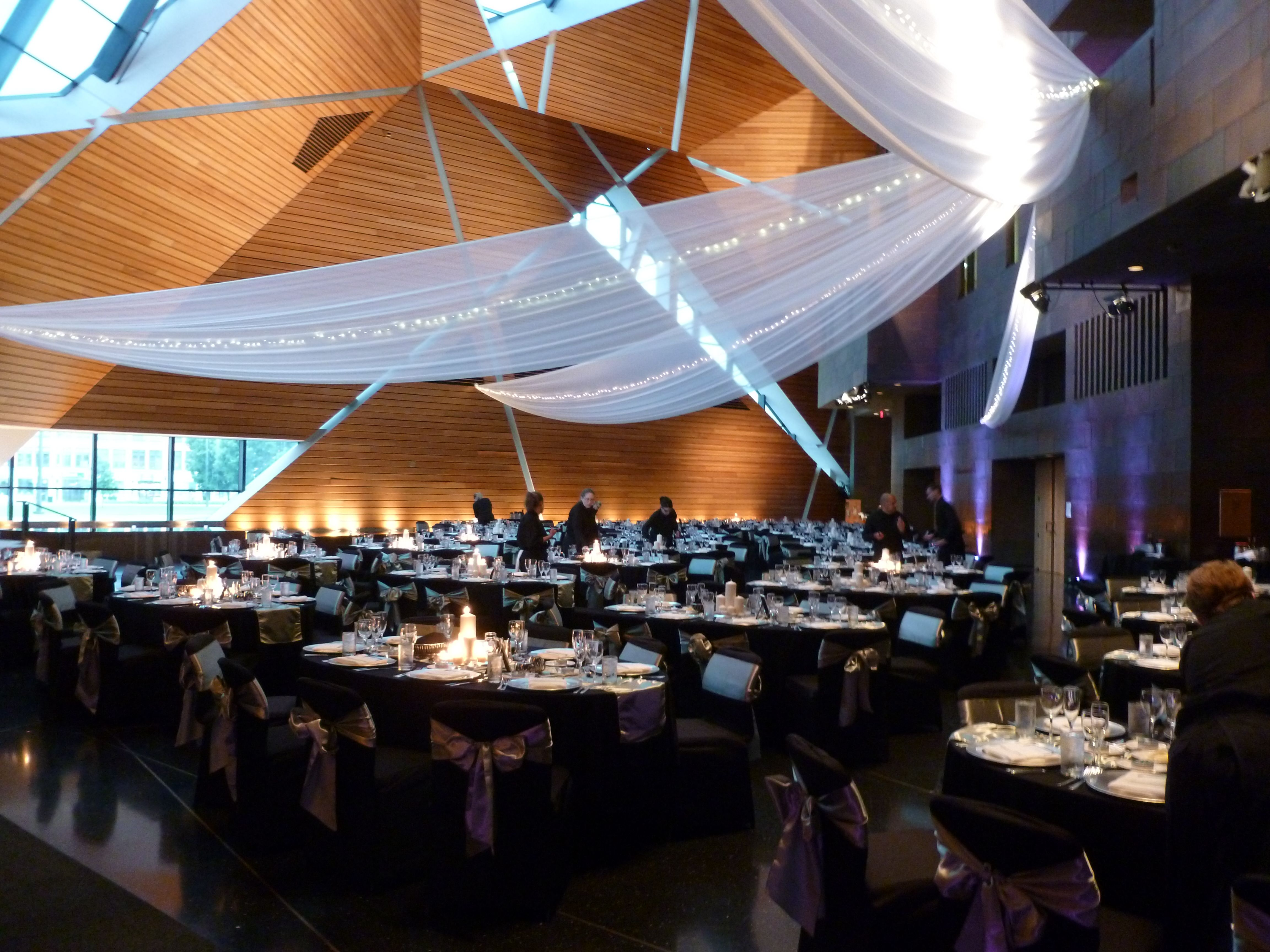 wedding linens sashes covers ballroom with the reception black chair gold in spandex pin ivory