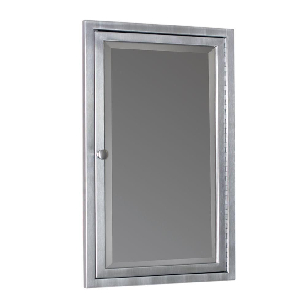 Home Depot Medicine Cabinet With Mirror Endearing Deco Mirror 16 Inw X 26 Inh X 412 Ind Framed Single Door