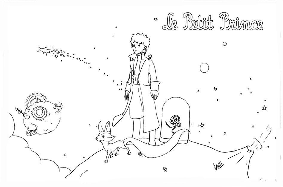 Pequeno Principe Desenhos Moldes E Riscos Desenho Pequeno
