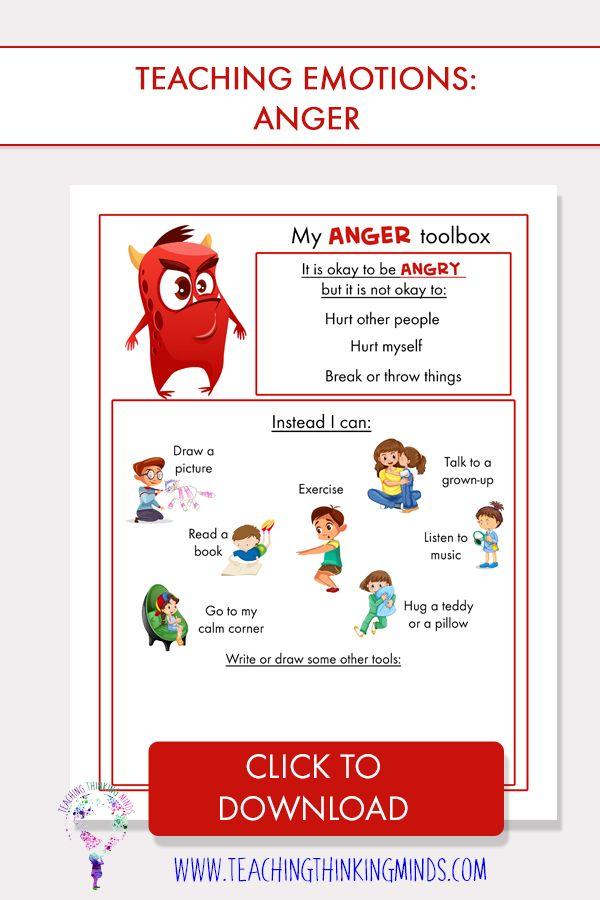 My Journal Of Monstrous Emotions Activities Pinterest