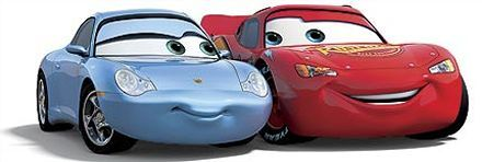 Sally And Lightning Mcqueen Cars Cars De Disney Disney Cars