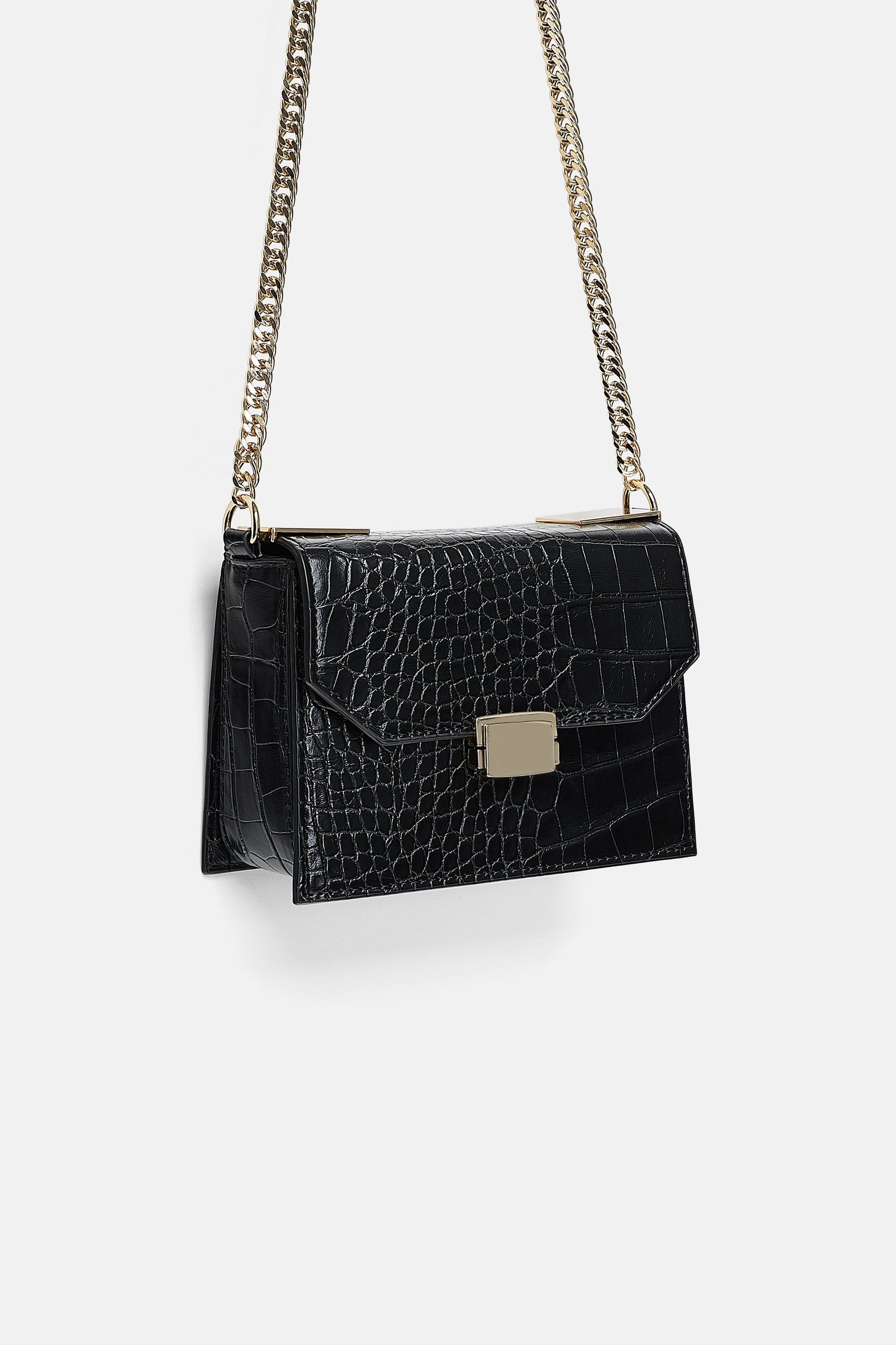 8b8c7ea4a2e0 Crocodile print crossbody bag in 2019 | Wish List. | Bags, Crossbody ...