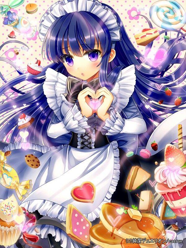 Image by Edna Barefoot on ELLSAT Anime, Anime maid