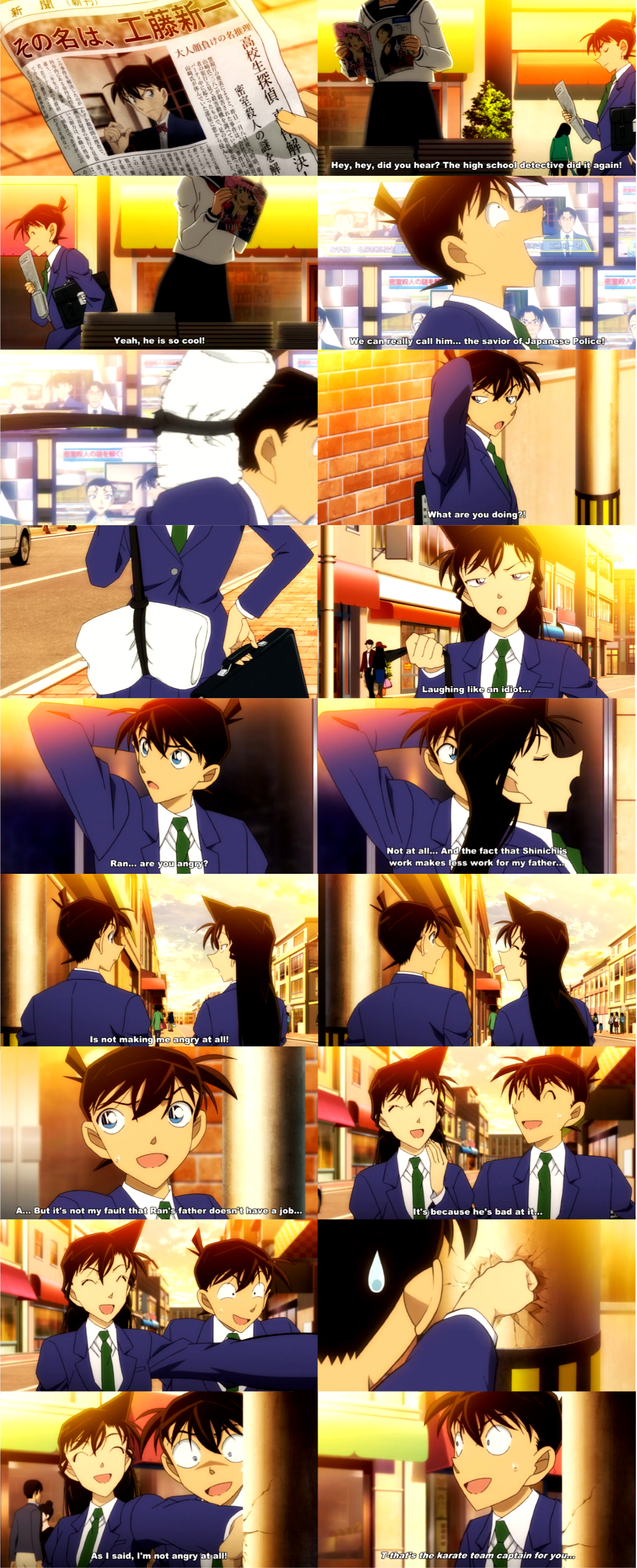 I'm Not Angry At All, #DetectiveConan