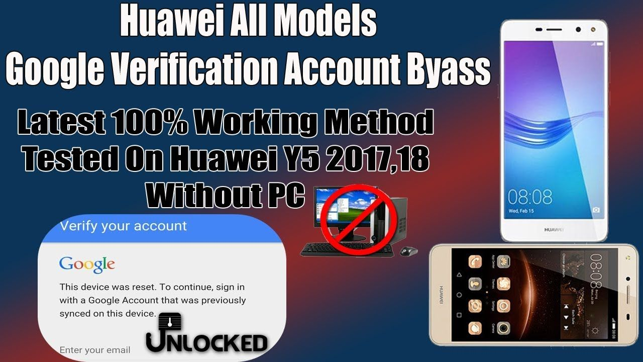 Huawei CUN-U29 Y5ii FRP, Remove Google Verification Account