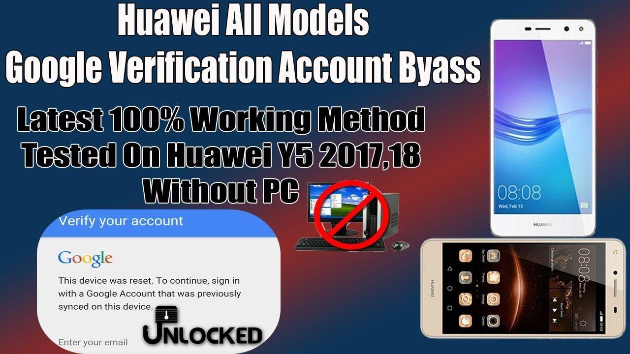Huawei CUN-U29 Y5ii FRP, Remove Google Verification Account 2018
