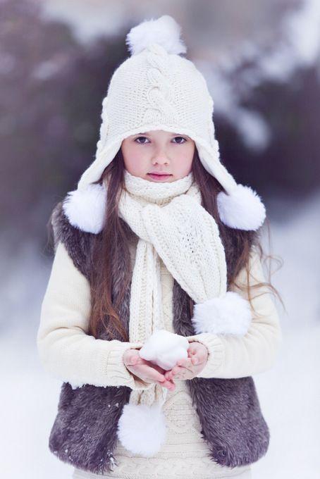Children Snow Winter Photography Kids Winter Fashion Winter Kids Girls Winter Hats