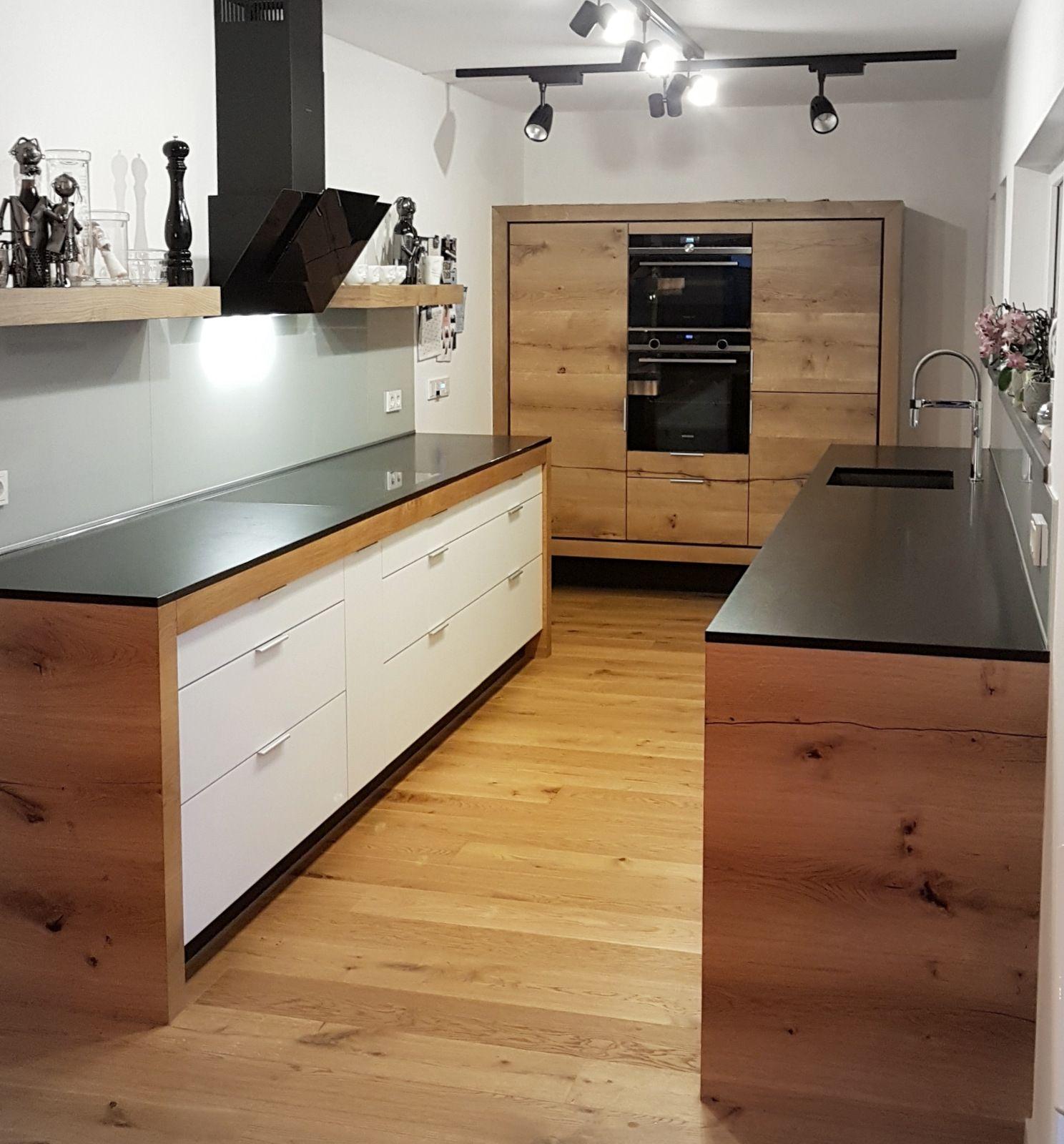 Schreinerküche #Modulküche  Modulküche, Holzküche, Einbaumöbel
