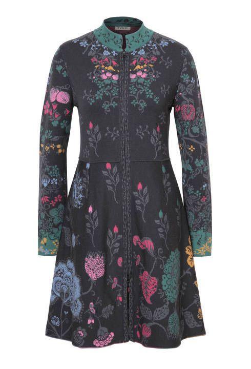 6316009891b Details about IVKO knitwear cardigan wool antracite all seasons zip ...