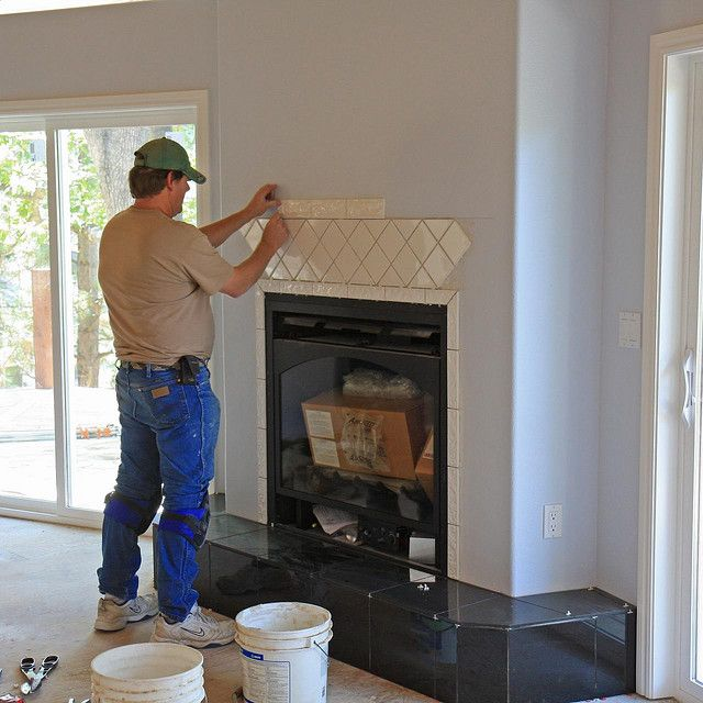 tiled fireplaces Fireplace Tile Reinventing the Looks of Your