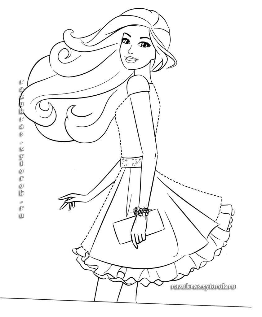 Раскраски Barbie 11 (With images) | Színező