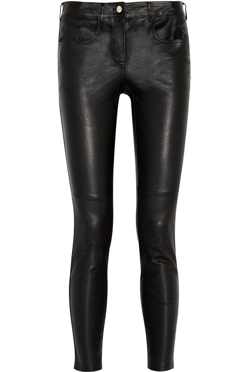 GIVENCHY Black leather pants | {on my shopping list ...