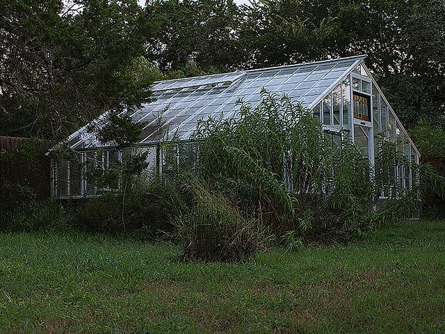 This greenhouse was originally constructed in 1930 and recently taken apart, moved from its original location & re-built in our backyard.     PalramGreenhouse.com