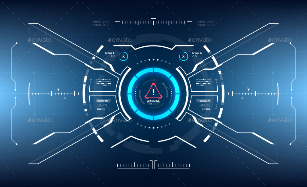 Conceptual 10 Hi Tech Hud Set High Tech Design Futuristic Technology Data Visualization Design