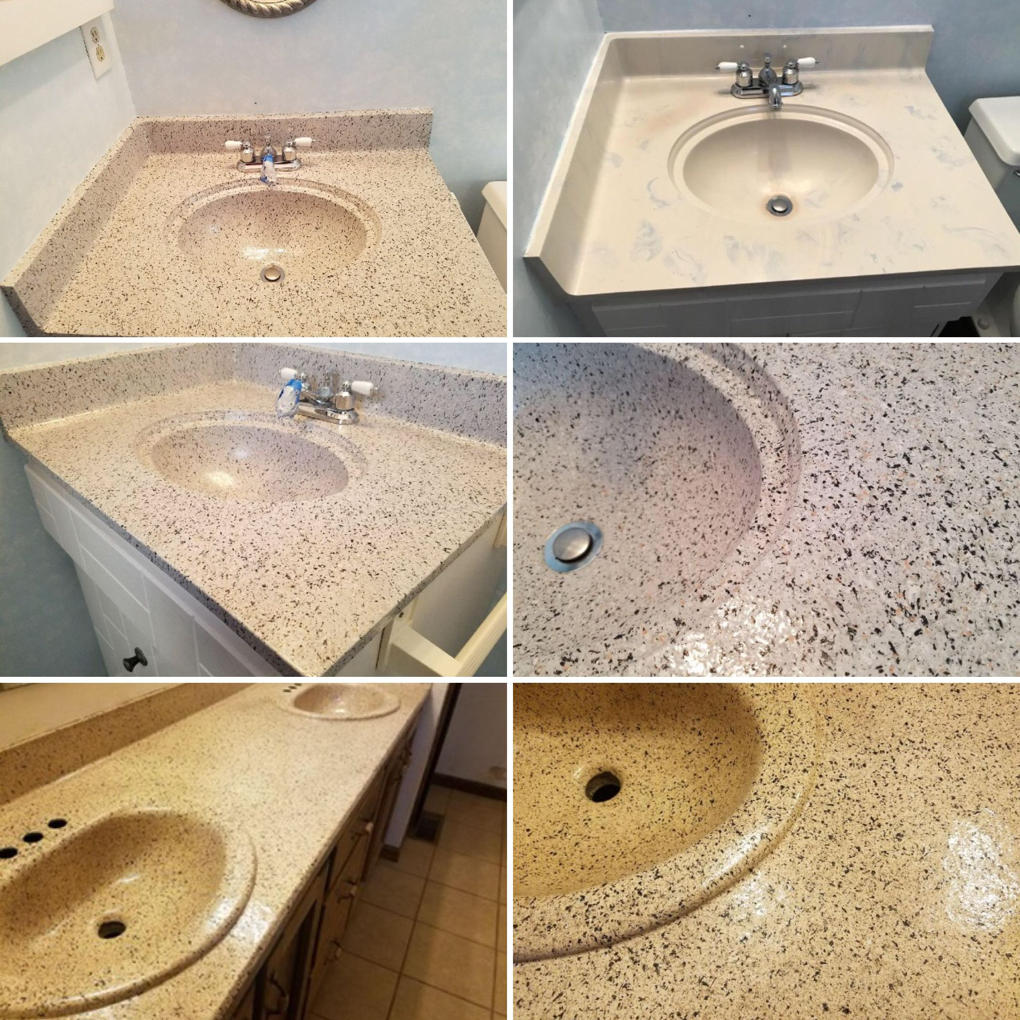 Let Renew Resurfacing Transform Your 70 S Vanity To Gorgeous In One Day 402 208 1564 Vanity Sink French Country Kitchens Sink