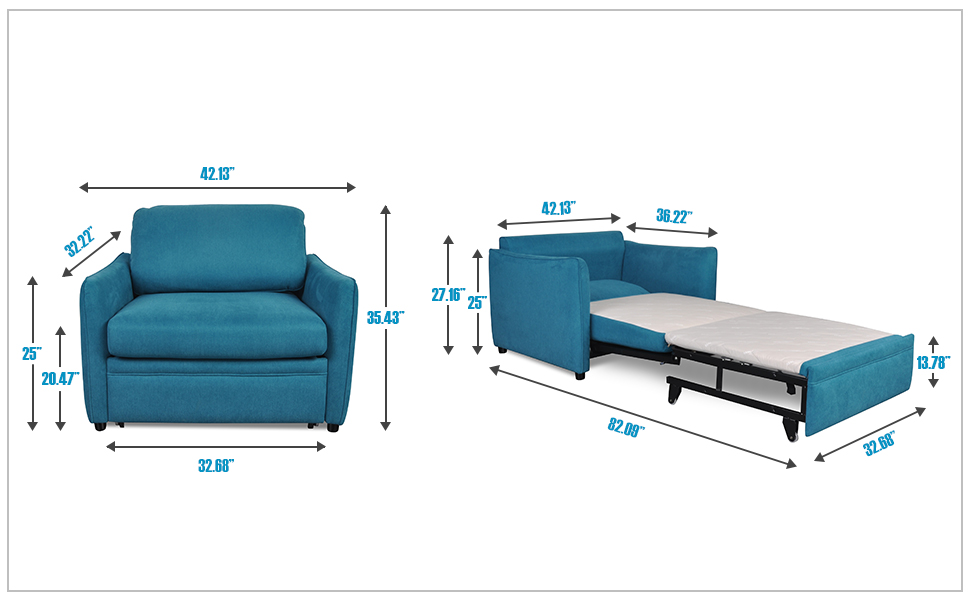 Amazon Com Living Room Furniture Single Chair Pull Out Sofa Bed Kitchen Dining Pull Out Sofa Bed Pull Out