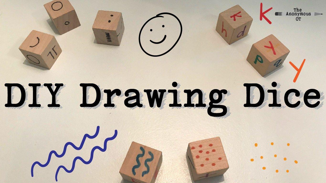 Diy Drawing Dice
