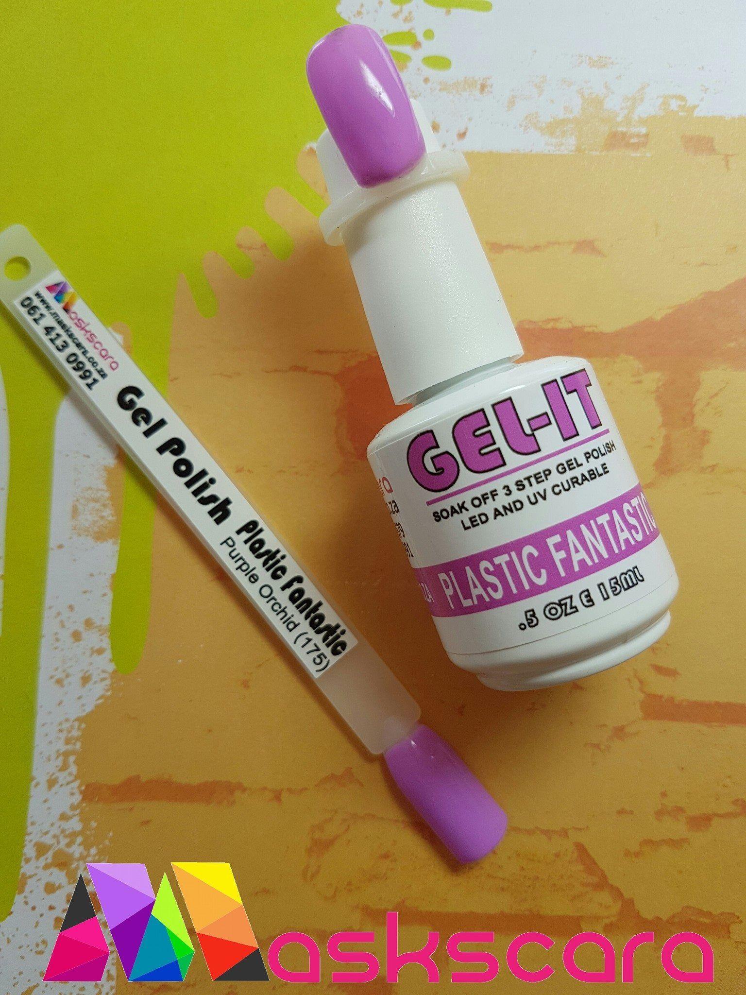 How to paint Maskscara Gelit UV polish. - YouTube