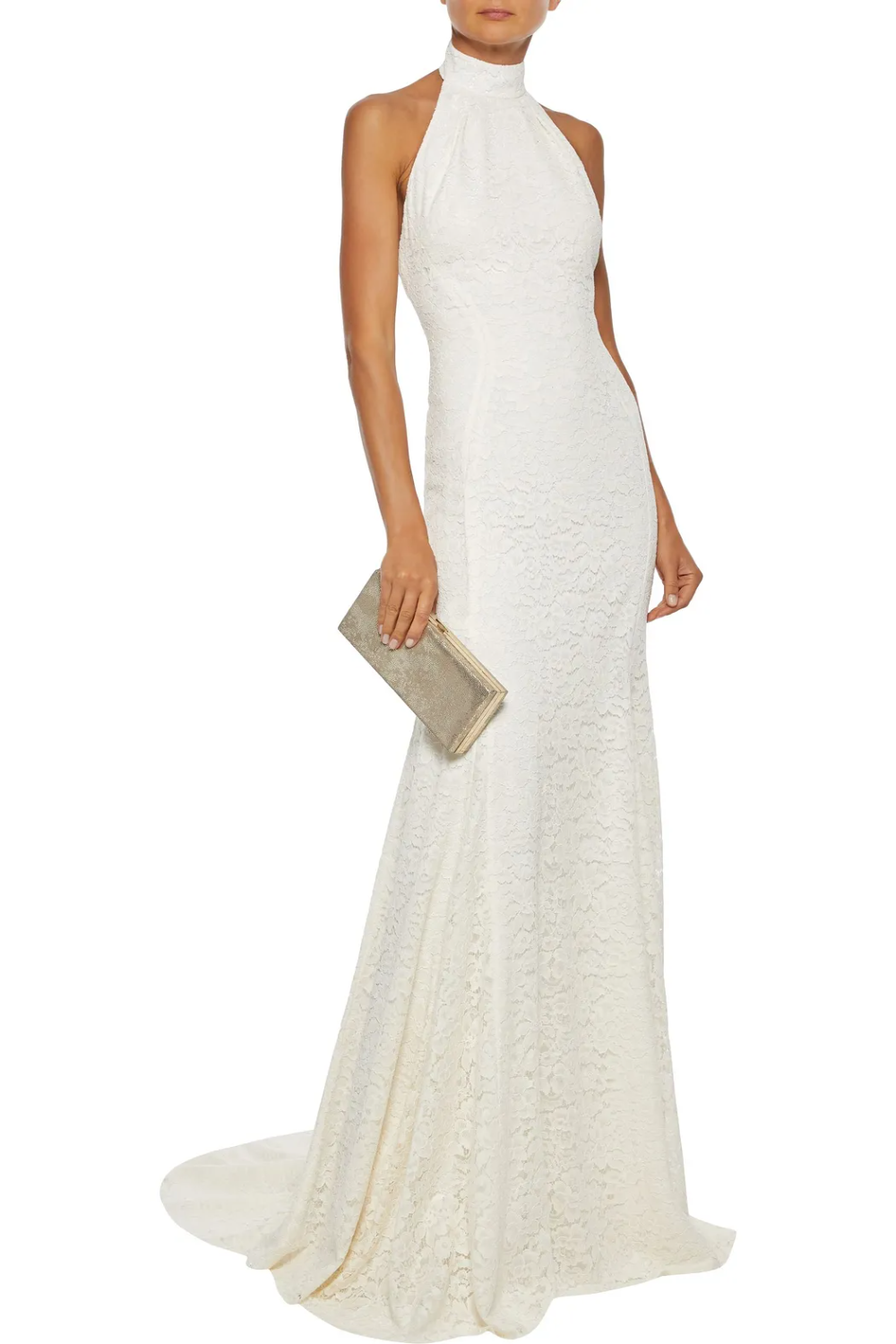 Ivory Willow Corded Lace Halterneck Bridal Gown Sale Up To 70 Off The Outnet Stella Mccartney Corded Lace Fashion Skirt Shopping [ 1500 x 1000 Pixel ]