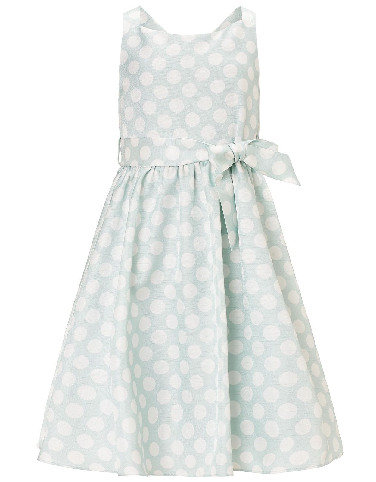 Sylvie - Abito a pois | Blu | Monsoon | Sewing for Girls | Pinterest