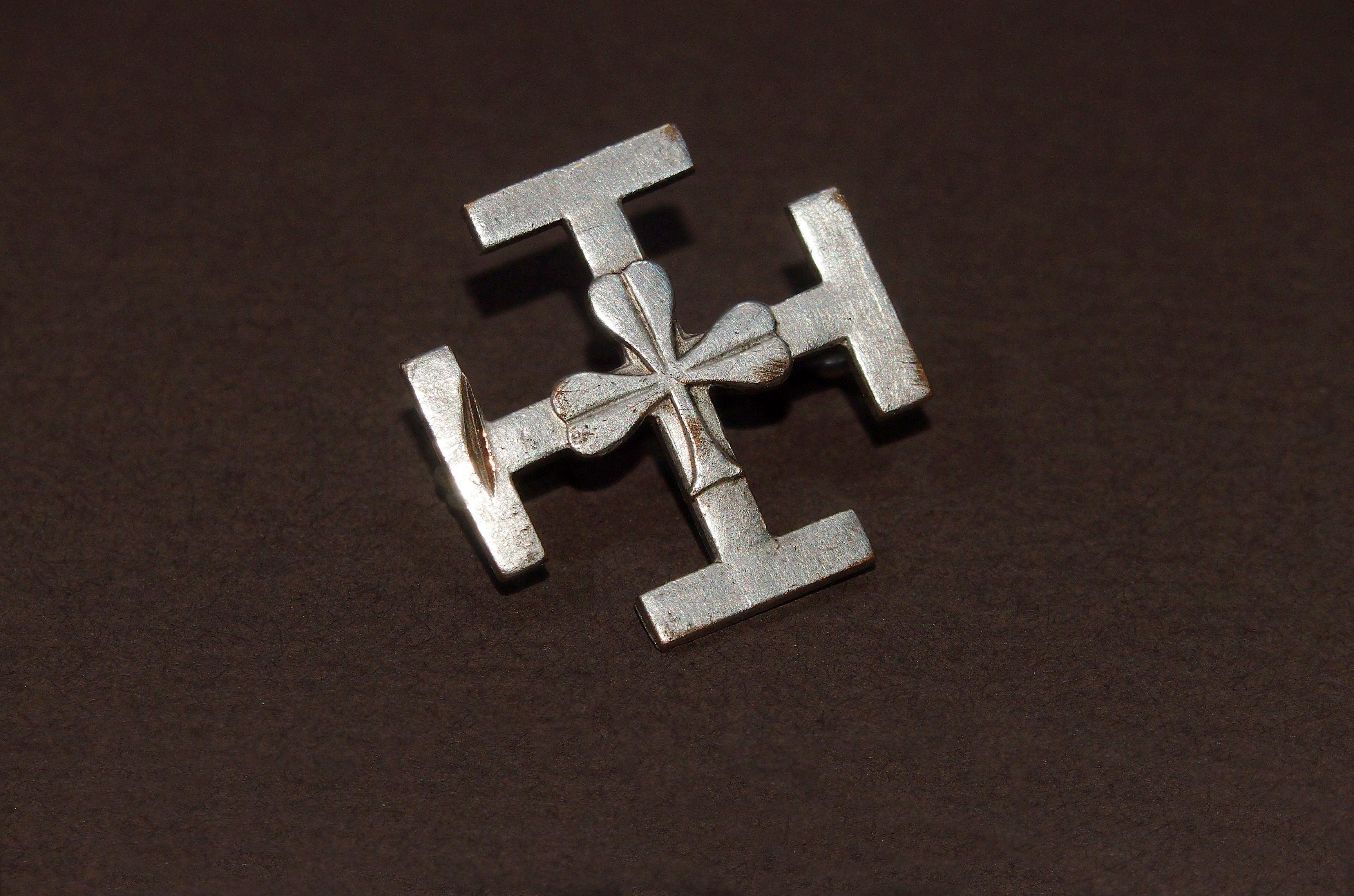 Wooden Cross On A Lace Деревянный Крест На Шнурке