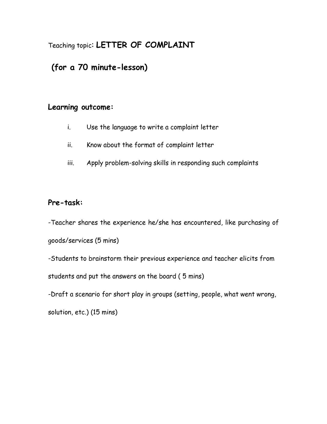 Valid Writing Business Requirements Template Letter Templates