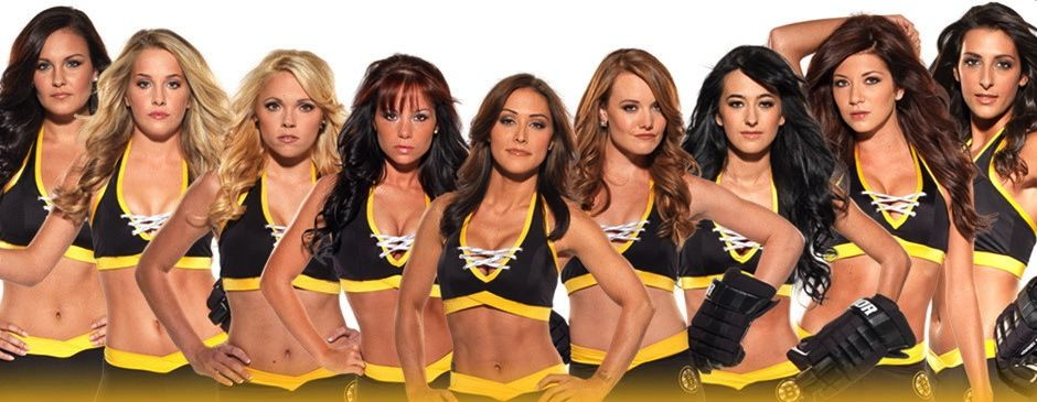 Image result for boston bruins ice girls