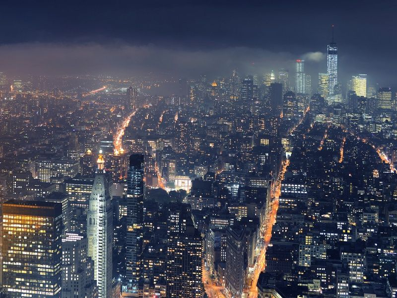 New York City At Night From Above Uhd Wallpaper On Mobdecor New York City Background City Wallpaper New York Wallpaper