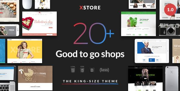 nice XStore - Responsive eCommerce HTML Template (Style ...