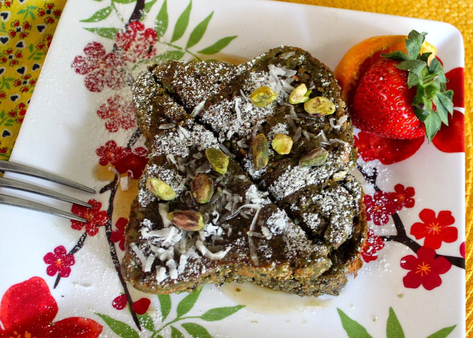 Hungry Vegan: My Great, Big, Yummy Breakfast: Pistachio-Crusted ...