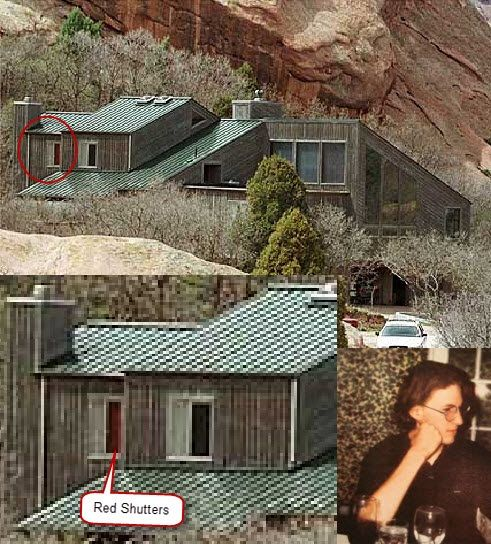 Columbine High School Shooting: Ou Il Y A Les Rideaux Rouges C Est La Chambre De Dylan