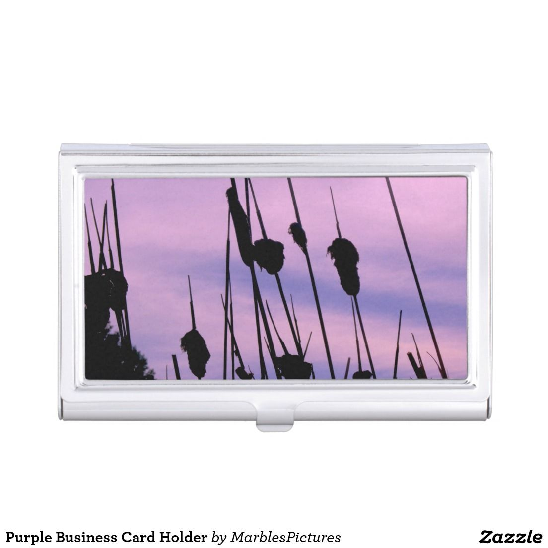 Cattails Business Card Holder | Business card holders, Business ...