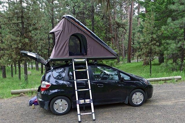 Tent for Honda Fit & Found on Google from pinterest.com   camping   Pinterest   Honda crv