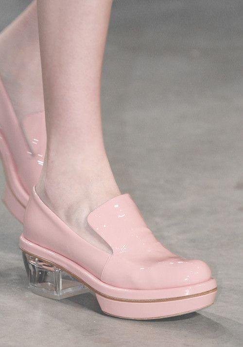 pastel loafers//Simone Rocha Fall 2013