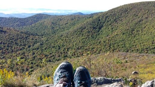 The view from Tennent Mtn