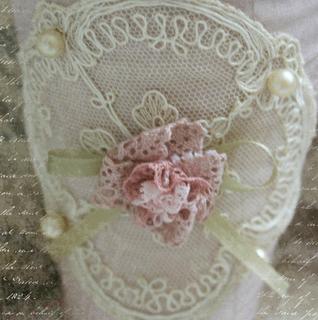 closeup of paper cone