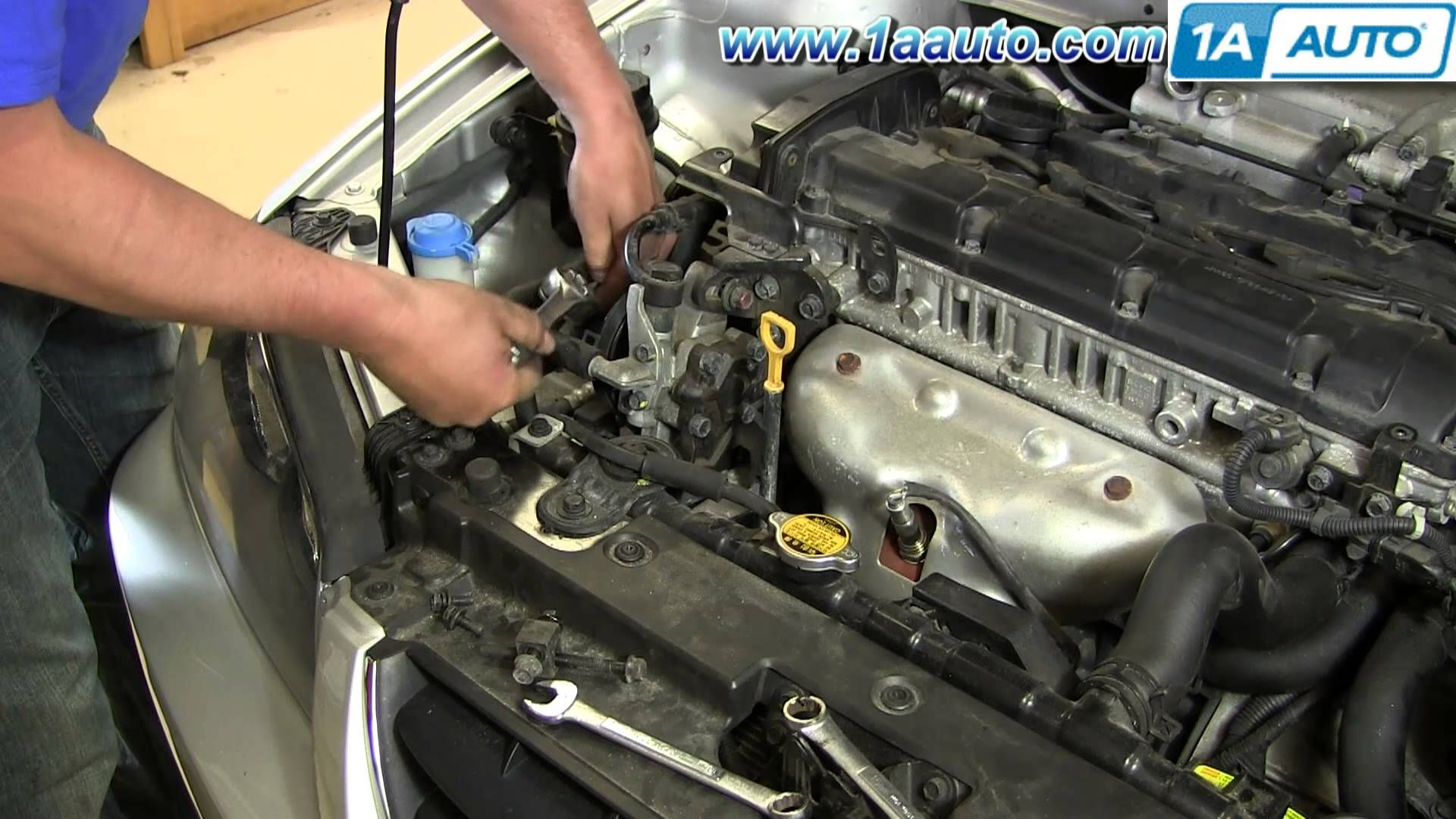 How To Install Replace Power Steering Belt 2001 06 Hyundai Elantra Hyundai Elantra Elantra Hyundai