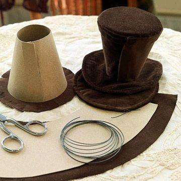 die besten 25 zylinderh te ideen auf pinterest hut mittel minizylinder und steampunk. Black Bedroom Furniture Sets. Home Design Ideas