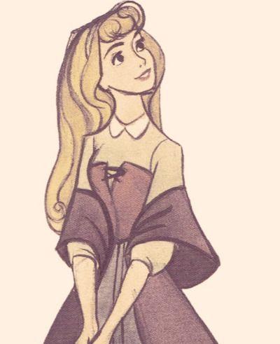 8cf945ff5e7f5 Briar Rose. Beautiful art! :) | Disney/Animation | Disney princess ...