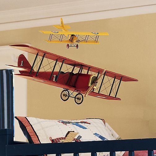 Vintage Bi Plane To Hang