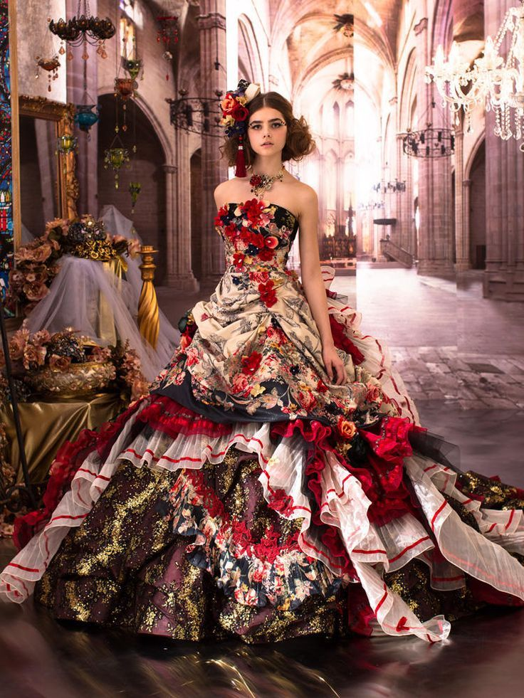 Stained Glass Prom Dress