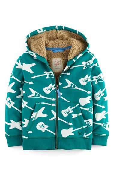 Mini Boden Shaggy Hoodie (Toddler Boys, Little Boys & Big Boys) available at #Nordstrom