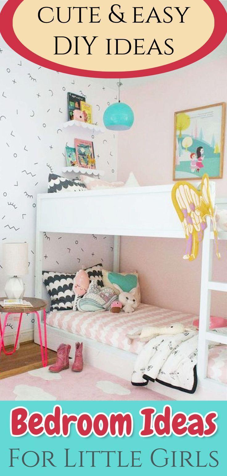 precious and perfect little girls bedroom ideas diy decorating rh pinterest com