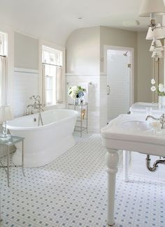 beautiful vintage style bathroom shows house can have a vintage rh pinterest com