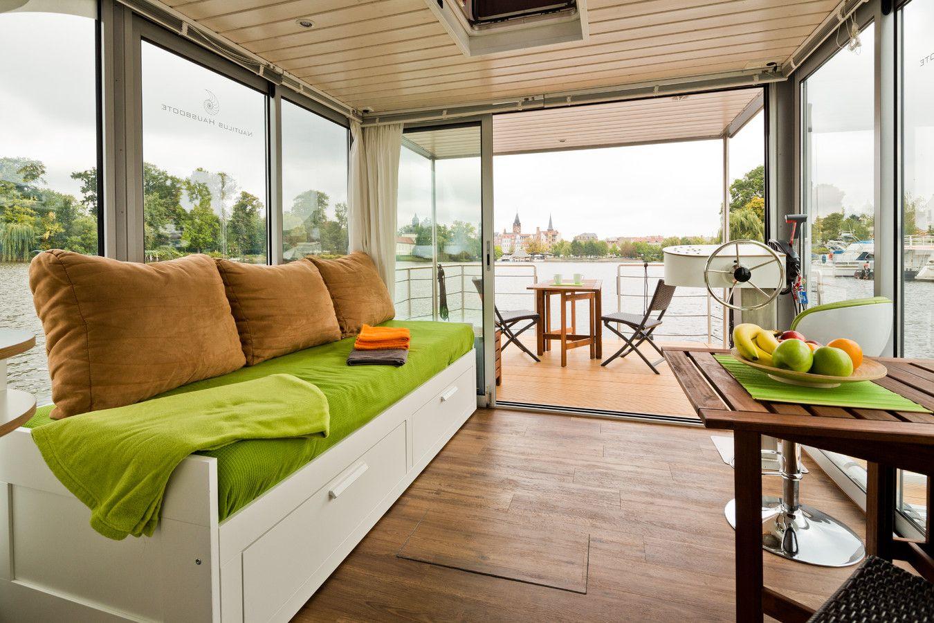 Hausboot kaufen Nautilus Hausboote auch Freiheit