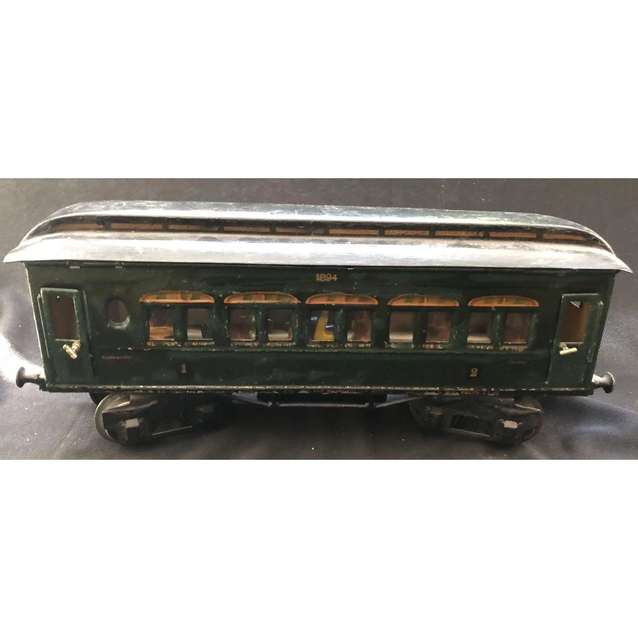 """Maerklin Marklin Train circa 1920 Passenger Car """"1894 ..."""
