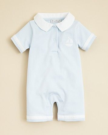 Kissy Kissy Infant Boys' Spring Pique Shirt Playsuit - Sizes 0-9 Months | Bloomingdale's